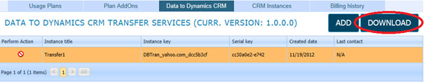 Microsoft CRM integration - Download And Install